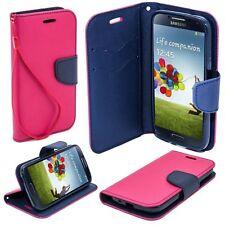 ^ Schwarz Book Case Cover Hülle Handy Tasche Etui Tasche Fancy Lenovo A7010 PINK