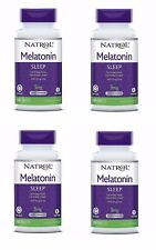 Natrol Melatonin Time Release 5mg Tablets 400 Tabs  4 Pack - Exp Date 01-2020