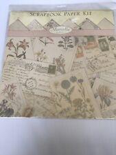 K & Company Marcella By Kay Ashley Script Paper Kit - 12 page set New