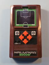 Original 1978 Mattel Soccer Electronic Handheld Video Game Console RARE