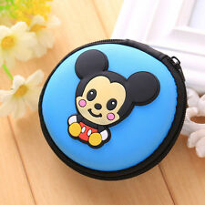 MICKEY MOUSE EARPHONE CASE PURSE COIN HOLDER HEARING AID UK SELLER!!