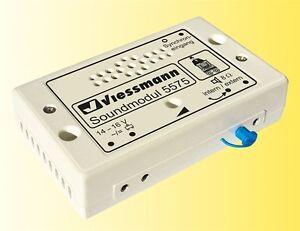 Viessmann 5575 Sound Module Barrel Organ # New Boxed #