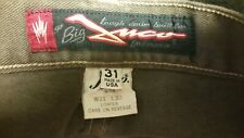 Vtg JNCO Loafer 90s Brown Bleach Spotted Skate Hiphop Jeans 31 x 22.5L Retro USA