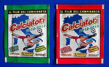"""CALCIATORI PANINI 2012-2013 - 2 bustine """"Film del campionato"""" V1/V18 - sigillate"""