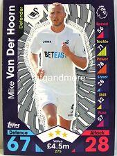 Match Attax 2016/17 Premier League - #275 Mike Van Der Hoorn - Swansea City AFC