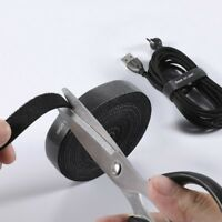 Cable Organizer Tape Wire Clip USB Headphone Cord Management For Office Computer