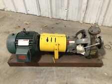Flowserve Mk3 Std 316 Stainless Steel 5hp Gear Pump 275psi 100f 15 X 1 3ph