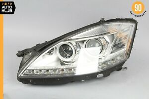 10-13 Mercedes W221 S550 S400 S600 Left Driver Side Headlight Lamp Bi-Xenon OEM