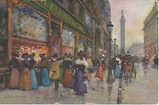 PC10813 Scenes de Paris. Rue de la Paix