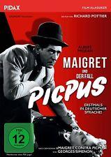MAIGRET UND DER FALL PICPUS - RICHARD POTTIER   DVD NEU