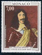 STAMP / TIMBRE DE MONACO N° 1788 ** ART / TABLEAU / LOUIS XIII ROI DE FRANCE