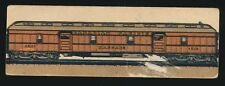 1928 V48 Lowney's Chocolates FAMOUS TRAINS #23 Trans-Canada Limited