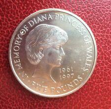 Royaume-Uni - U.K. 5 Pounds  1999 - Cupro-Nickel - Princess  Diana