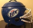 Miller Lite helmet Grill blue white never used
