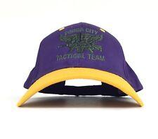 Ponca City Tactical Team (Oklahoma) Embroidered Baseball Cap Hat Adj Adult Sz