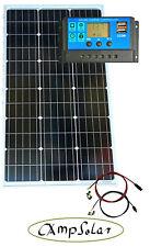Solarmodul 100 W Solarset 12V  Wohnmobil Garten 20 Ampere Solaranlage  neu