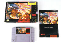SNES Fighter's History w/ Manual & Outer Box Authentic Super Nintendo Video Game