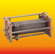 66 TURNS ~ 70 uH ROLLER INDUCTOR VARIABLE INDUCTANCE COIL SILVERED COPPER WIRE