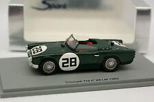 Spark 1/43 - Triumph TRS N°28 Le Mans 1960