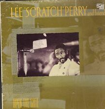 """ OPEN THE GATE. "" lee perry & friends. TROJAN TRIPLE L.P. BOX SET 1989 orig."