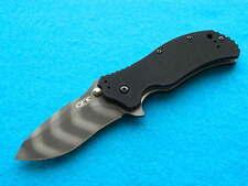 Zero Tolerance ZT 0350TS Folding Knife! A/O Flipper w/ Tiger Stripe S30V Blade!