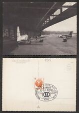 Berlin  Flughafen Tempelhof Zentralflughafen  Flugzeug Sonderstempel Lufthansa