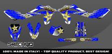 KIT ADESIVI GRAFICHE WINGS BLUE  per moto SMS 125 2012 DECALS DEKOR