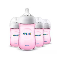"""""""Free Shipping"""" Philips Avent Natural baby bottle Scf013/48 (Pink, 9oz, 4pk)"""
