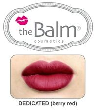 The Balm Cosmetics -Meet Matte Hughes Long Lasting Liquid Lipstick - DEDICATED