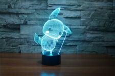 Pokemon Pikachu 3D LED Night Lamp