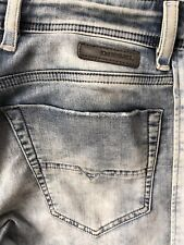 DIESEL NARROT 0672G JOGG JEANS W28 L30 PRE-OWNED