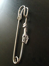 "Giraffe kilt pin Scarf or Brooch pin 3""  7.5 cm refc4"