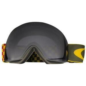 Oakley OO 7050-12 Flight Deck Havoc Flight Series Dark Grey Snow Ski Goggles .