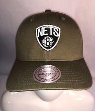 e6327f0f4bd7a Mitchell   Ness NBA Brooklyn Nets Snapback Adjustable Fit Cap