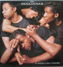 THE PASADENAS - TO WHOM IT MAY CONCERN - LP (ORIGINAL INNERSLEEVE)