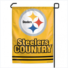"Pittsburgh Steelers Garden flag 11"" x 15"""