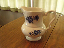 Lord Nelson Pottery Pitcher Blue and white