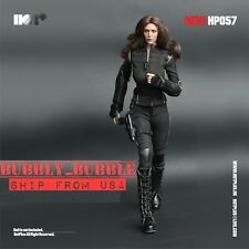 "1/6 Black Widow Agent Clothing Set For 12"" PHICEN Hot Toys Female Figure ☆USA☆"