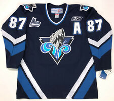 SIDNEY CROSBY RIMOUSKI OCEANIC REEBOK JERSEY LARGE PENGUINS NEW W/TAGS