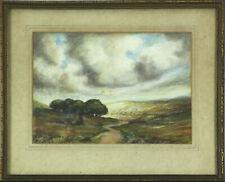 Watercolour by Alfred Adams.  landscape