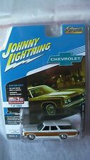 JOHNNY LIGHTNING 1/64 1973 CHEVY CAPRICE STATE WAGON WHITE MIJO EXC