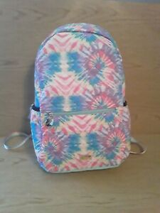Betsey Johnson Tie Dye Backpack & Wristlet Large New w/Tags Fast Shipping!