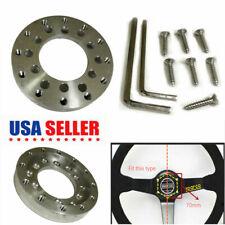 70MM Aluminum Steering Wheel Adapter Plate for Logitech G25 G27 Sparco Wheel US