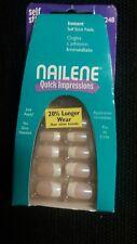 LOT!! NAILENE SELF STICK NAILS SALON NAILS 5 KITS 77248