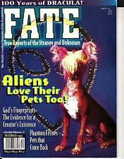 Fate Magazine December 1997 Aliens Love their Pets Dracula Phantom Felines