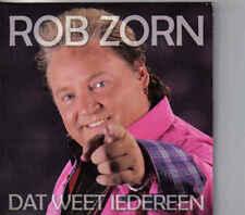 Rob Zorn-Dat Weet Iedereen cd single
