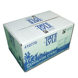 Tate & Lyle Individual White Sugar Sticks / Sachets - Pack of 1000 Sticks
