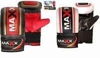 Maxx Pro Gel Pro Bag Mitts Boxing Gloves Grappling Punch MMA UFC Muay RRP £24.99