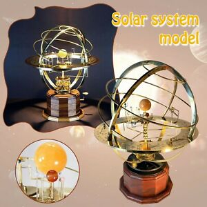 Grand Orrery Model Of The Solar System Home Living Bedroom Decor Ornament Gifts