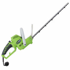 """GreenWorks (22"""") 4-Amp Dual Action Electric Hedge Trimmer w/ Rotating Handle"""